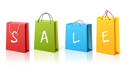Shopping bags Stock Vector - 3117962