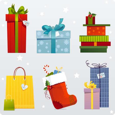 Gift set Stock Vector - 3674978
