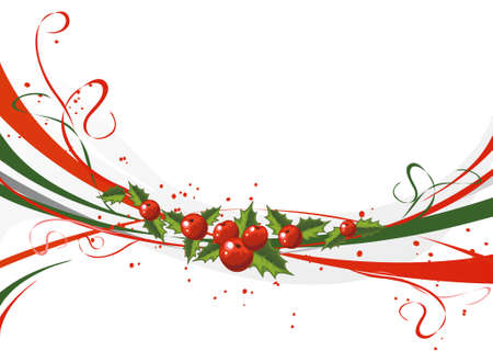 saturated color: Christmas design Illustration