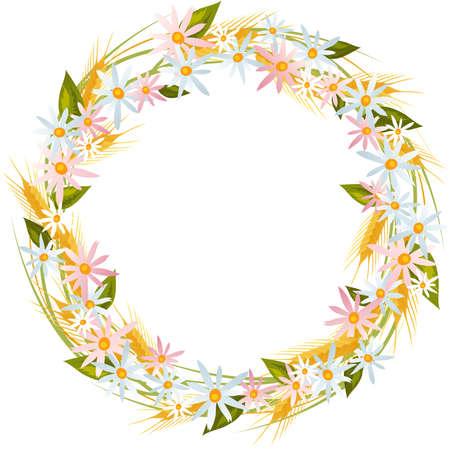 marguerite: Floral wreath