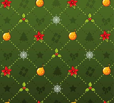Xmas pattern Vector