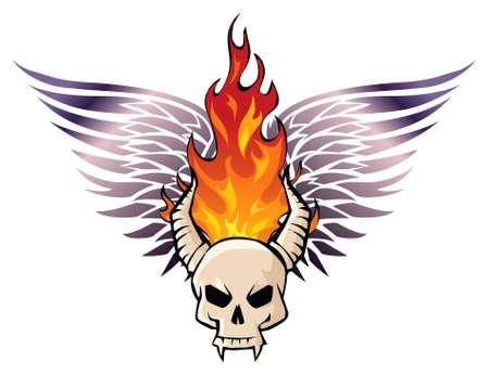 Infernal skull