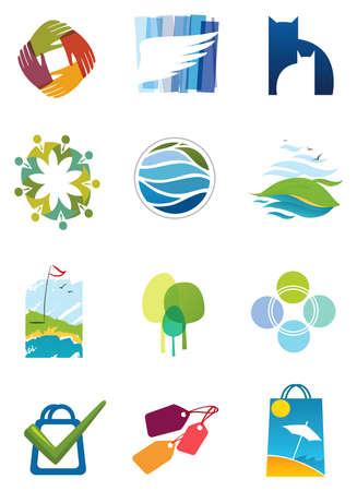 set van iconen