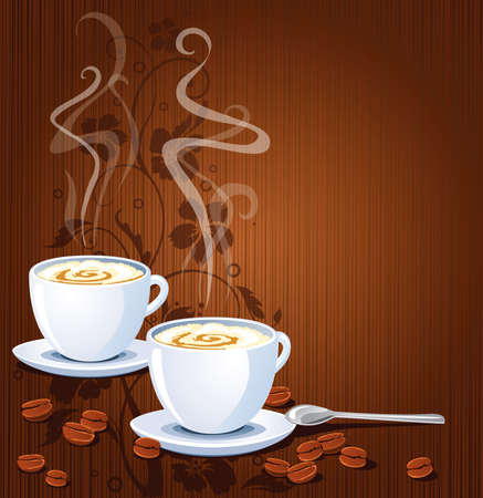 Koffie achtergrond