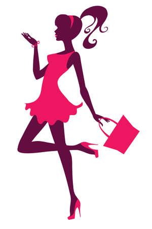 flirty: Ragazza alla moda