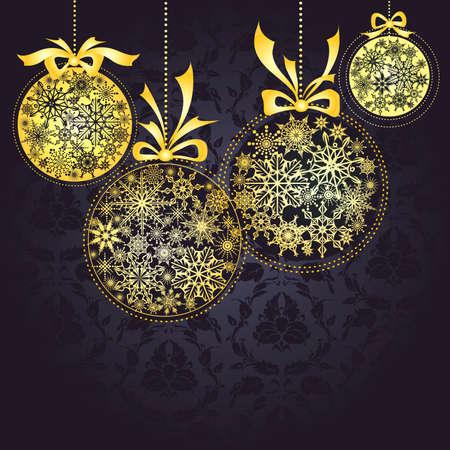 colden: Christmas golden balls
