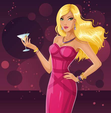 busty: Sexy rubia