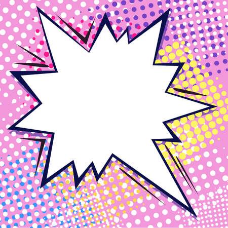 pop art: Boom comics dialogue bubble