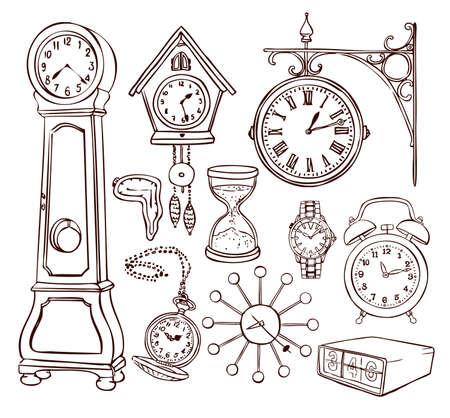 reloj cucu: Colección de diferentes reloj