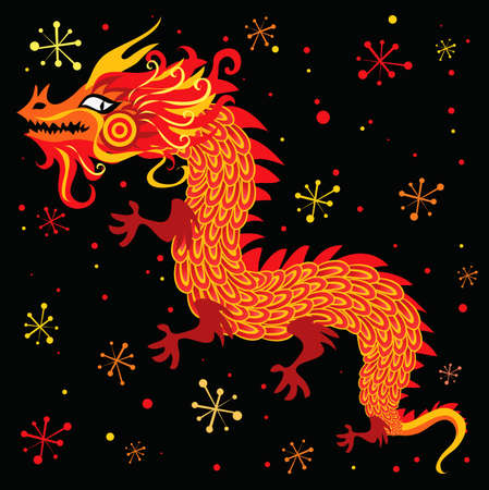 year of the dragon: Chinese New Year Dragon