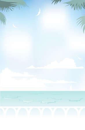 blissful: Blissful sea view