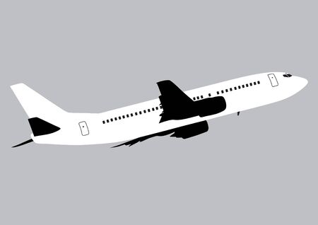 Jet Plane Illustration Illustration