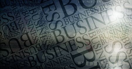 Business Typography photo