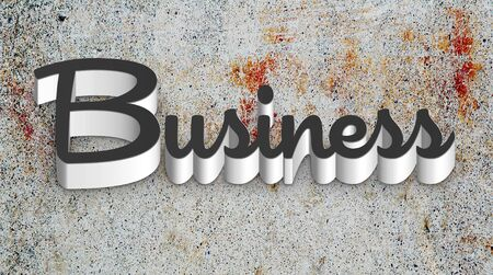 Business Typography Stock Photo - 11810790