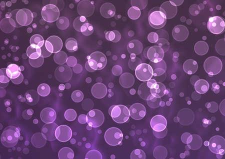 Bokeh Purple & Silver