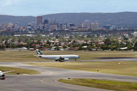 Adelaide Airport South Australia Editorial