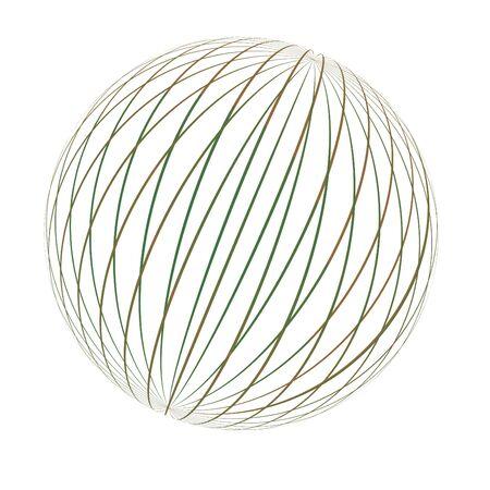 Rotatable Globe Vector