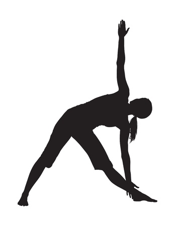 position: Yoga Position Illustration
