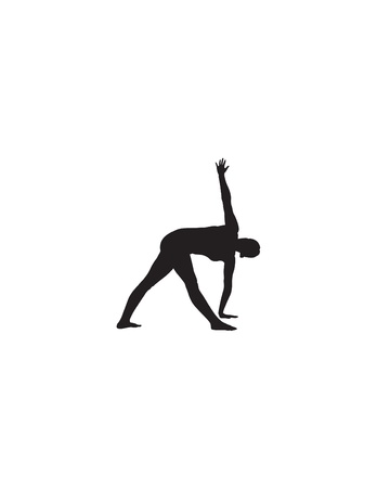 Yoga Position Illustration Vector