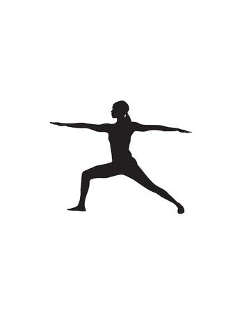 Yoga Position Illustration Stock Vector - 12483991