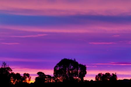 Sunset Hues Stock Photo