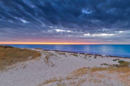 Ocean Storm Sunset