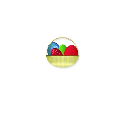 Easter Basket Illustration Illustration