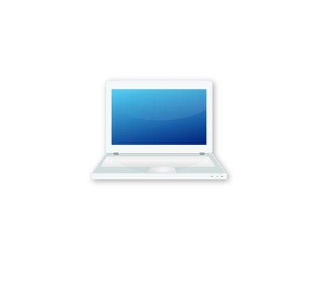 Laptop Icon Illustration Stock Vector - 13740134