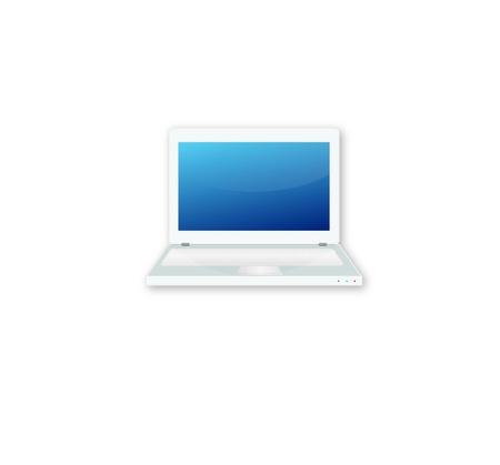 Laptop Icon Illustration Stock Vector - 13740134