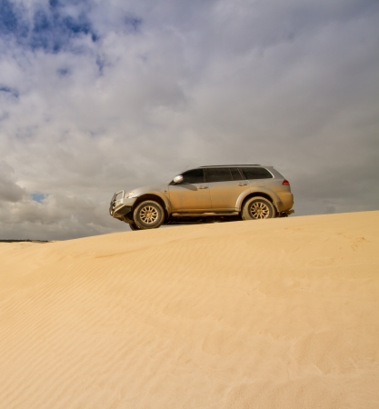 4x4 on top of a Sand Dune