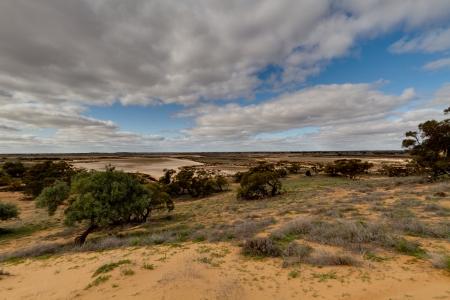 Salt Lake Murray Sunset National Park South Australia