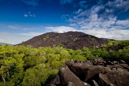 loin: Black Mountain National Park Cook, Ville Far North Queensland Australie