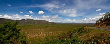 loin: Mont Carbine Far North Queensland Australie panoramique