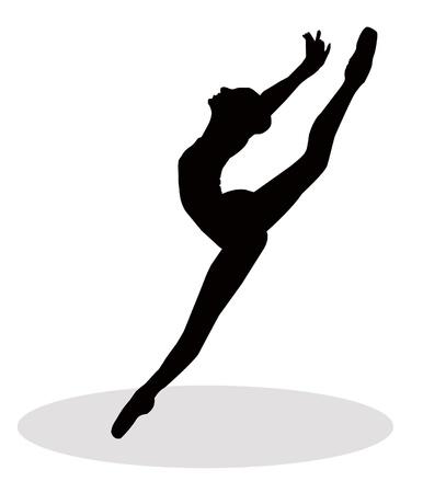 Ballarina Illustration Illustration