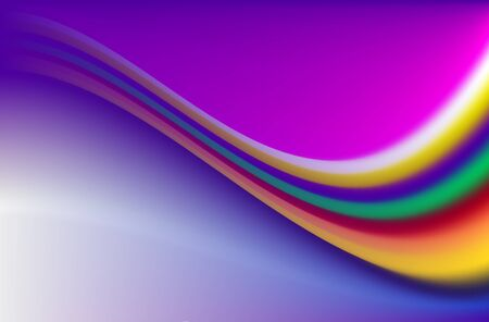 Rainbow Background Illustration Illustration