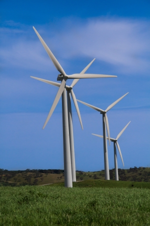 viable: Wind Farm Stock Photo