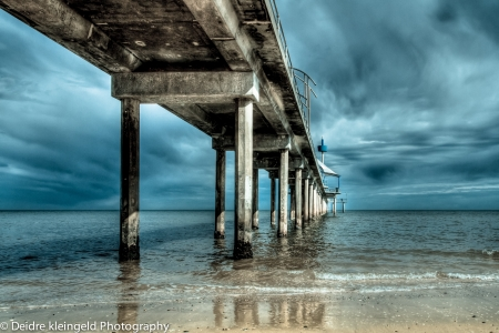 Brighton Jetty South Australia HDR photo