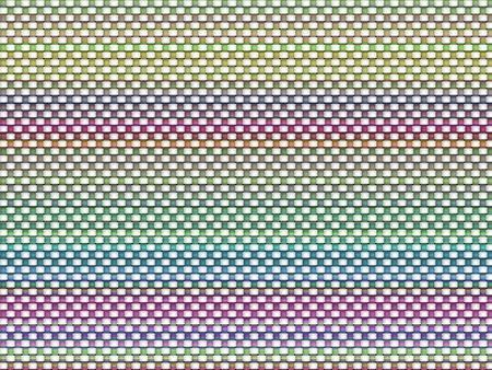 Retro weave design background Stock Photo