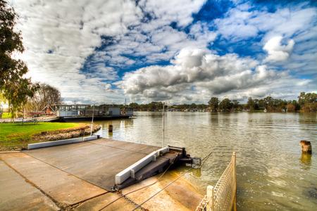 Mannum Ferry Murry River South Australia