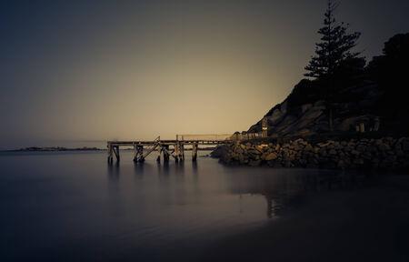 Twilight over Horseshoe Bay South Australia
