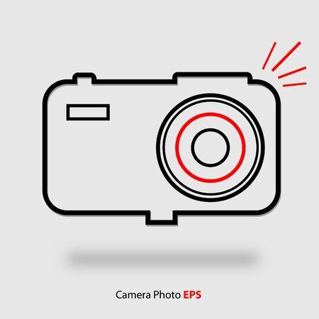 Camera Photo Icon Vextor