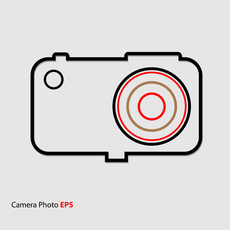 Camera Photo Icon Illustration