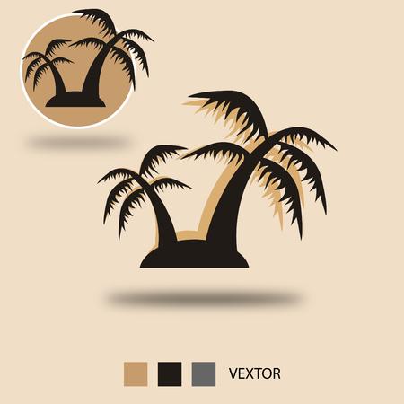 cypress tree: Tree Icon Vextor