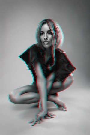 Model with Scandinavian look