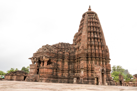 Beautifuly architectured and carved Neelkantheshwar Temple, Udaypur, Madhya Pradesh, India Editorial