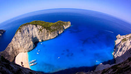 Navagio Zakynthos, Greece Words most famous beach and shipwreck