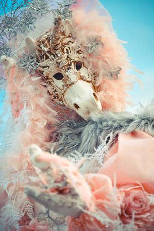 Venetian mask model Carnival 2016
