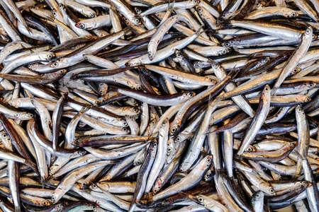 corfu: Fish market in Corfu Town Stock Photo