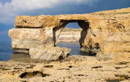 Azure window Malta on the island of Gozo.