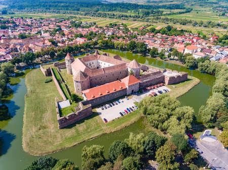 Fagaras Fortress in Transylvania Editorial